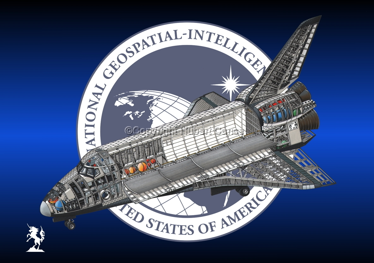 Rockwell Space Shuttle (Insignia #6) (large view)