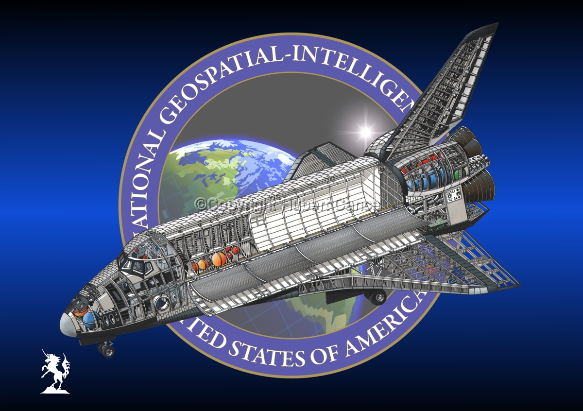 Rockwell Space Shuttle (Insignia #8) (large view)