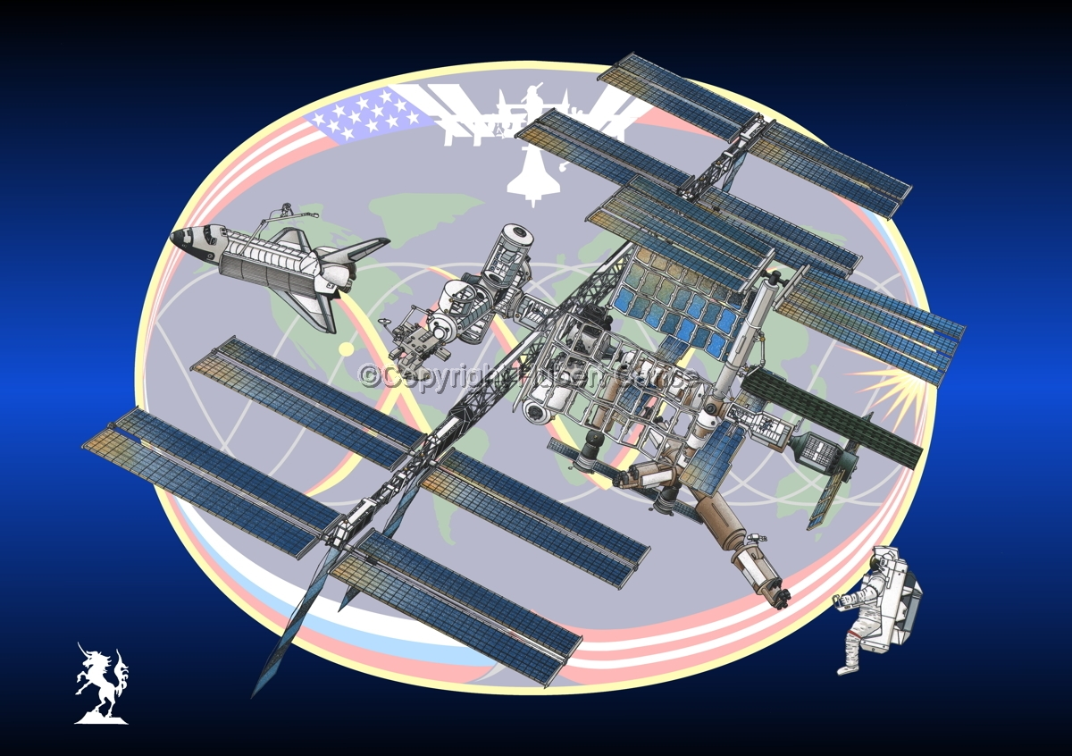 International Space Station (Insignia #18) (large view)