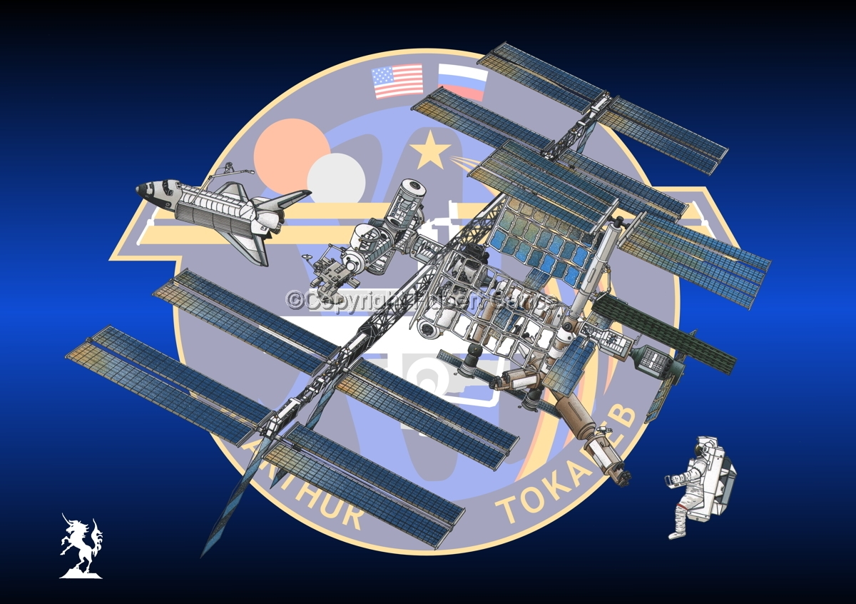 International Space Station (Insignia #15) (large view)