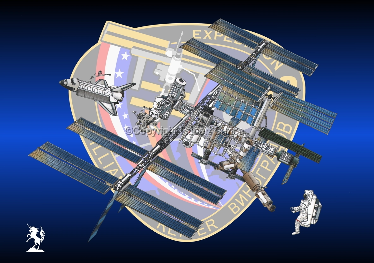 International Space Station (Insignia #16) (large view)