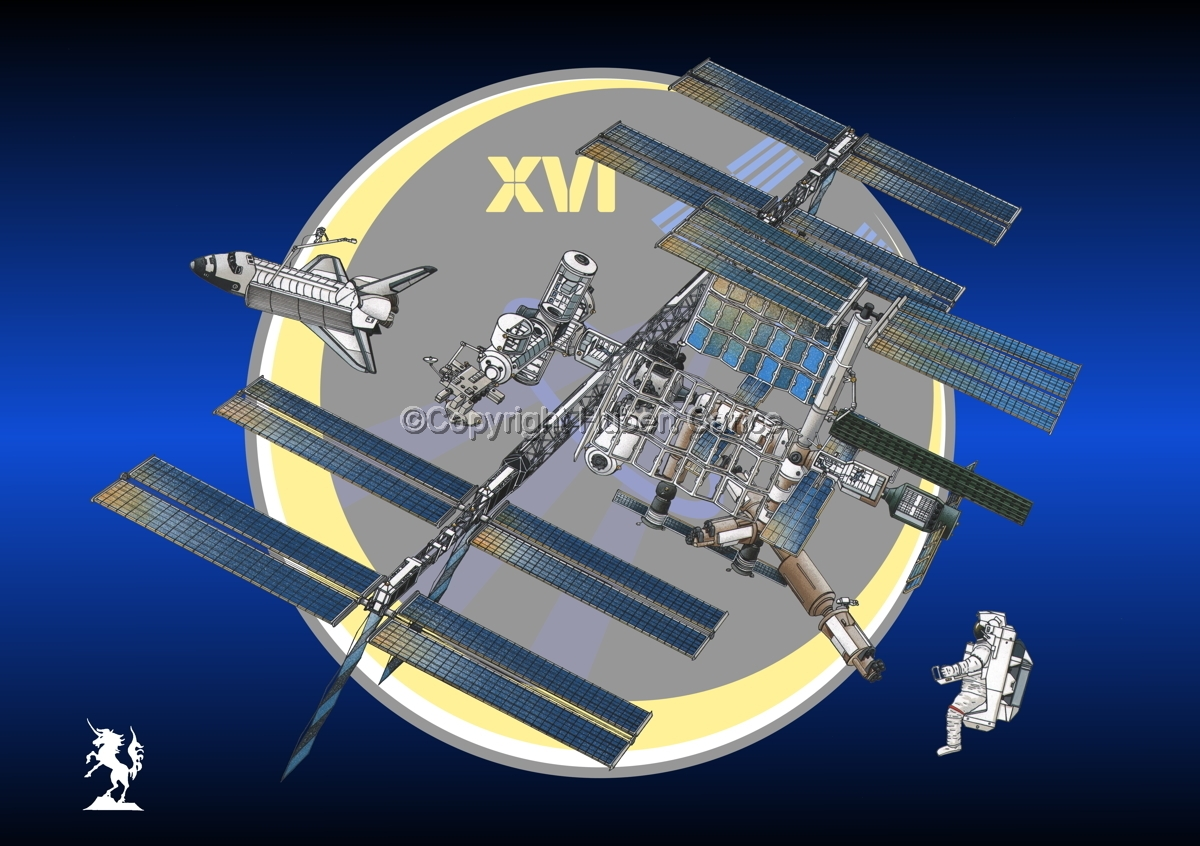 International Space Station (Insignia #19) (large view)