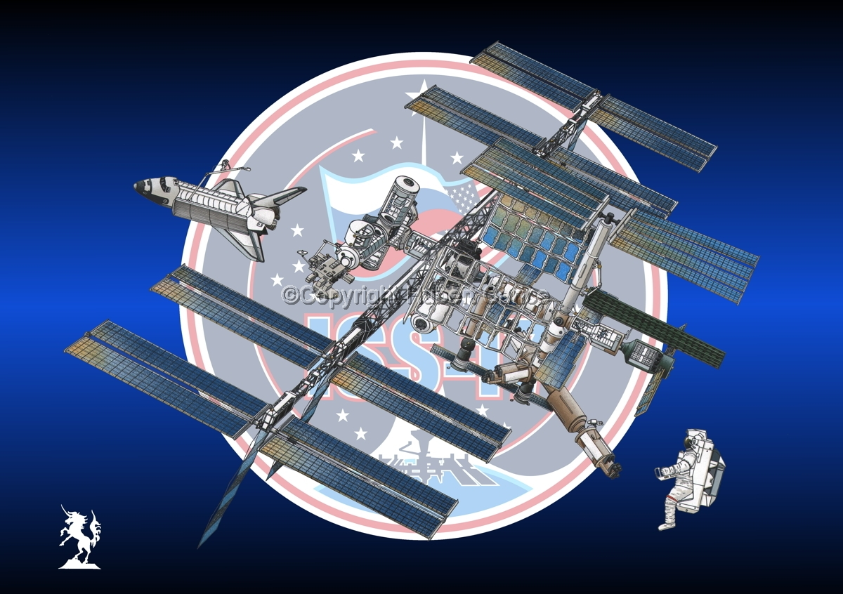 International Space Station (Insignia #20) (large view)