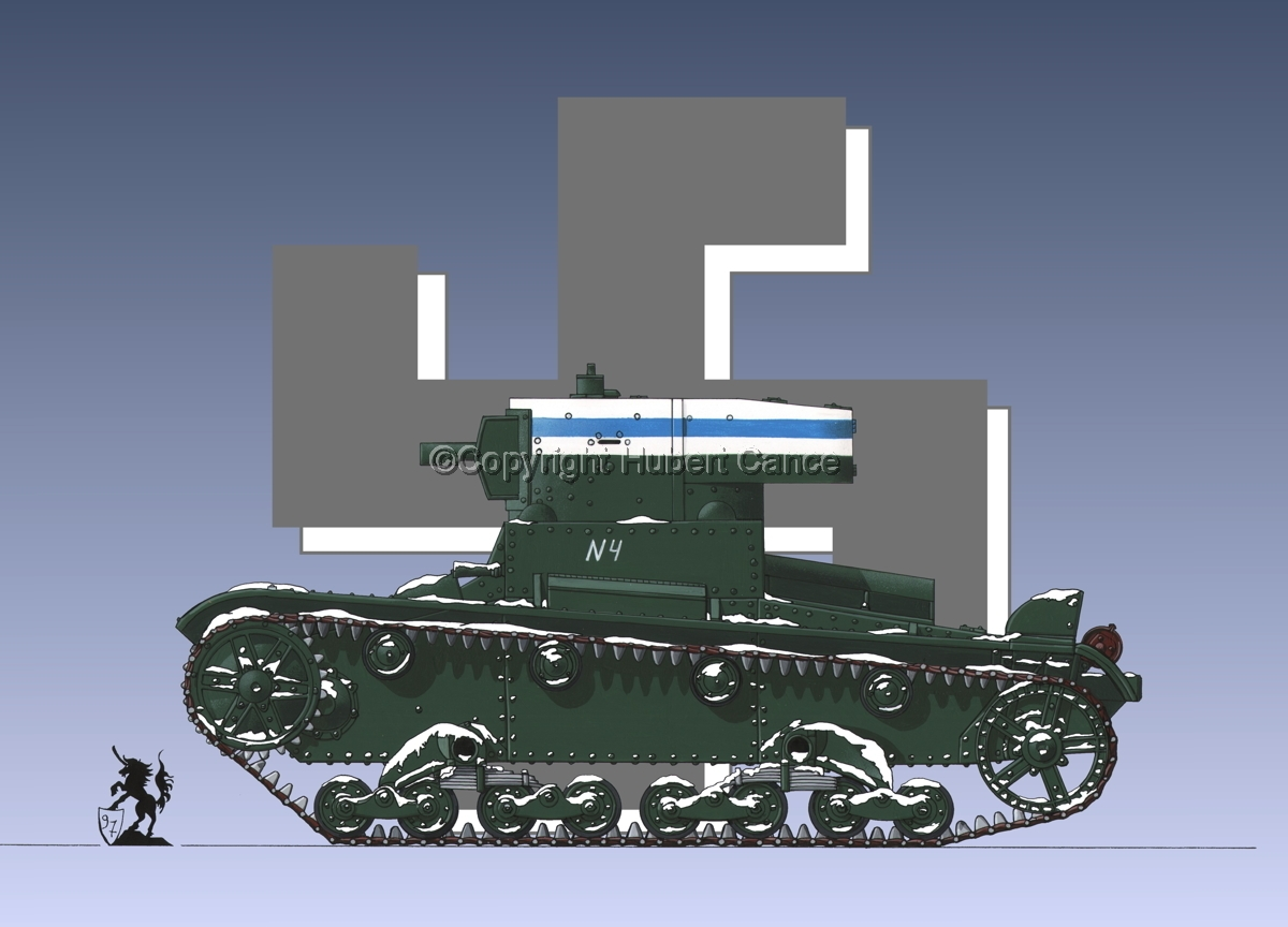 OT-130 Flamethrower Tank (Roundel  #1) (large view)
