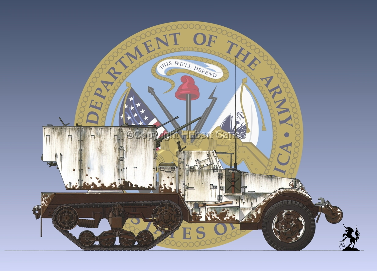 M15 MGMC Half-Track (Insignia  #1) (large view)
