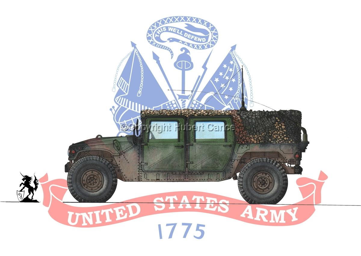 AMC M998 HMMWV Cargo (Flag #2) (large view)