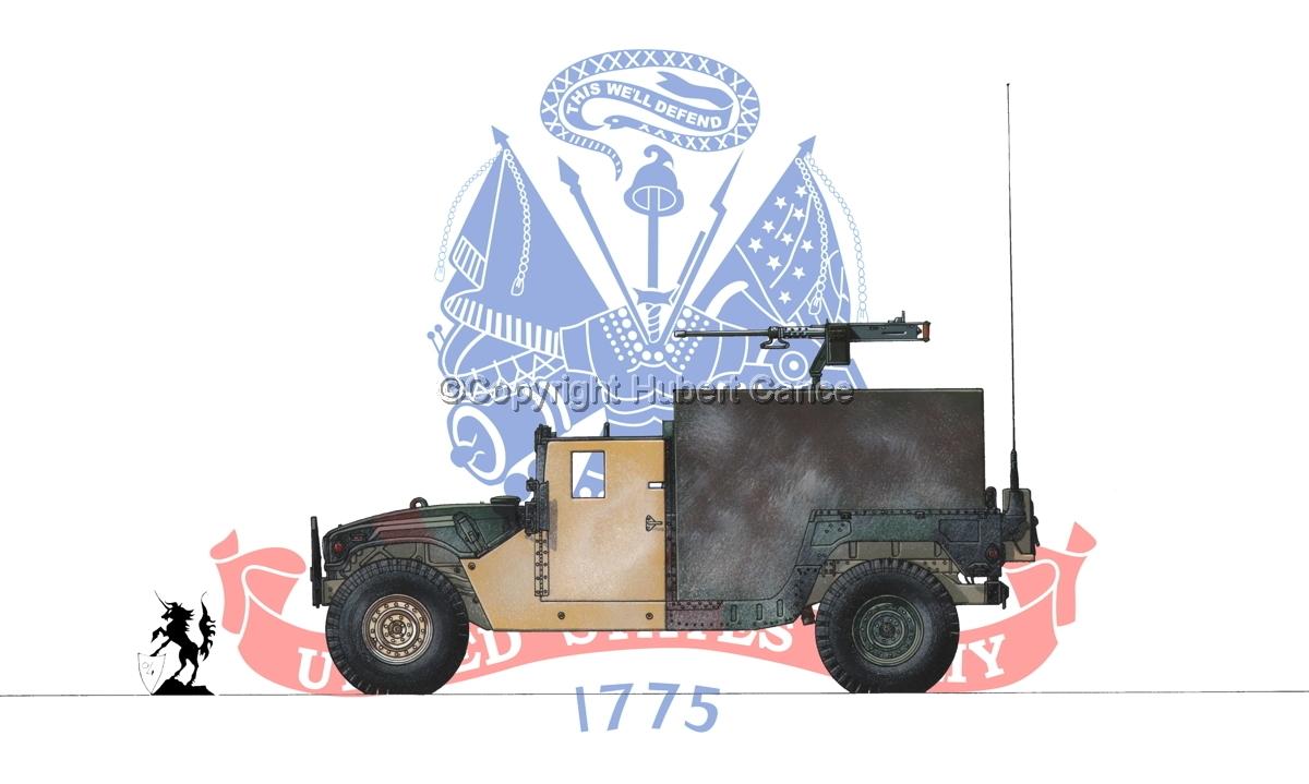 AMC M998 HMMWV Gun-Truck (Flag #2) (large view)