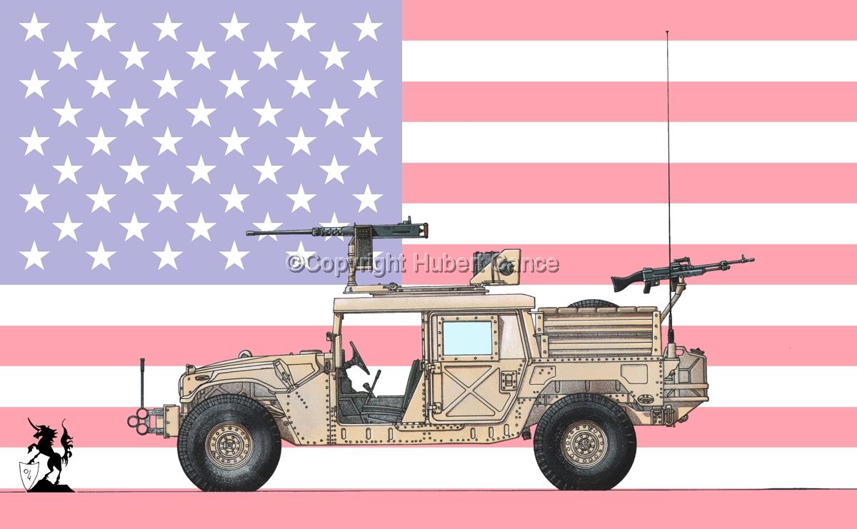 AMC M1025A2 HMMWV GMV-S (Flag #1) (large view)