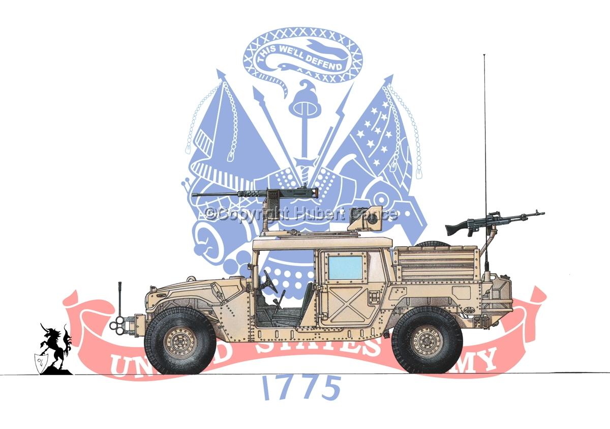 AMC M1025A2 HMMWV GMV-S (Flag #2) (large view)