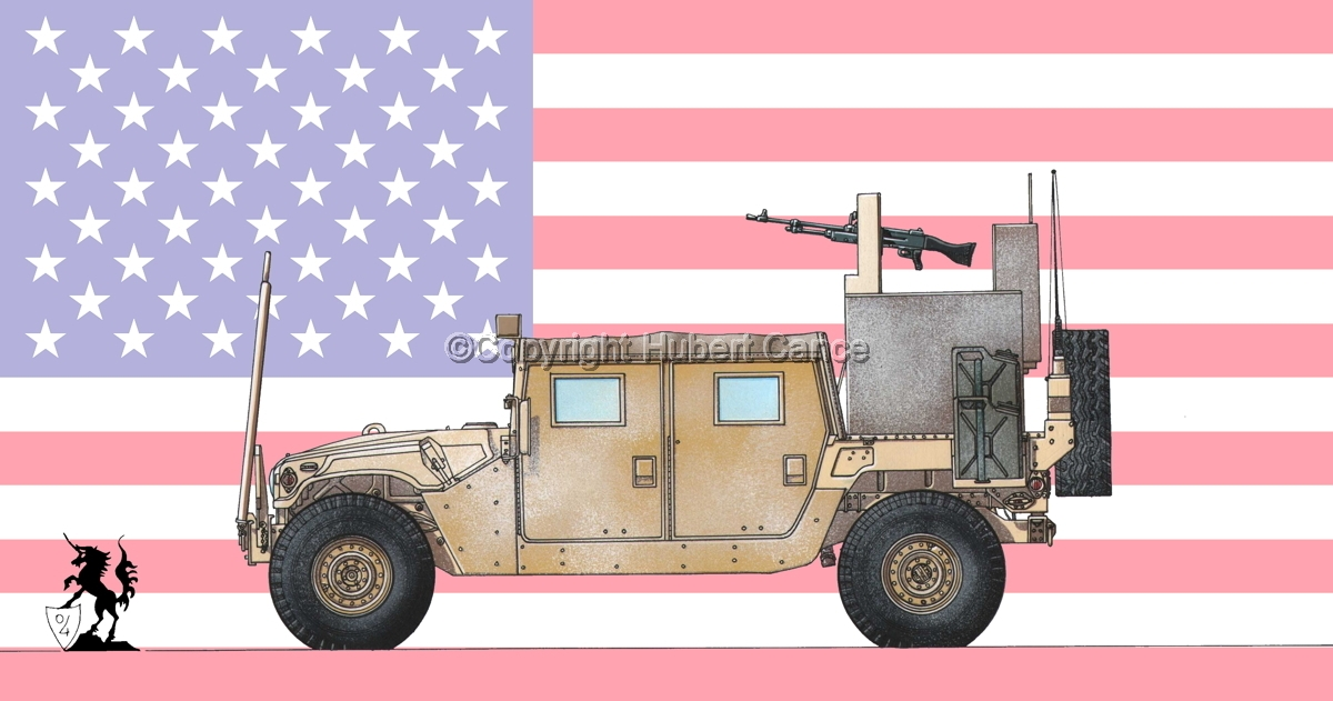 AMC M1038 HMMWV Gun-Truck (Flag #1) (large view)