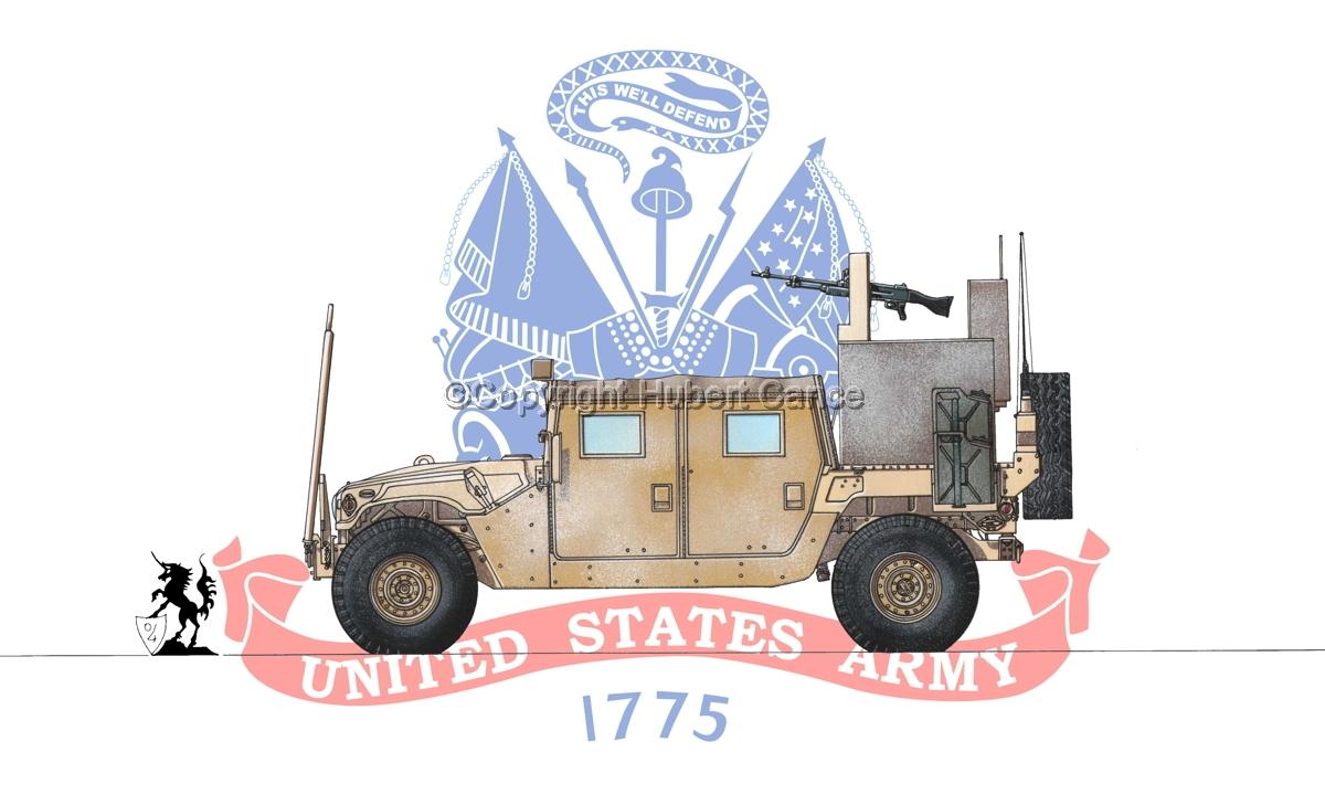 AMC M1038 HMMWV Gun-Truck (Flag #2) (large view)