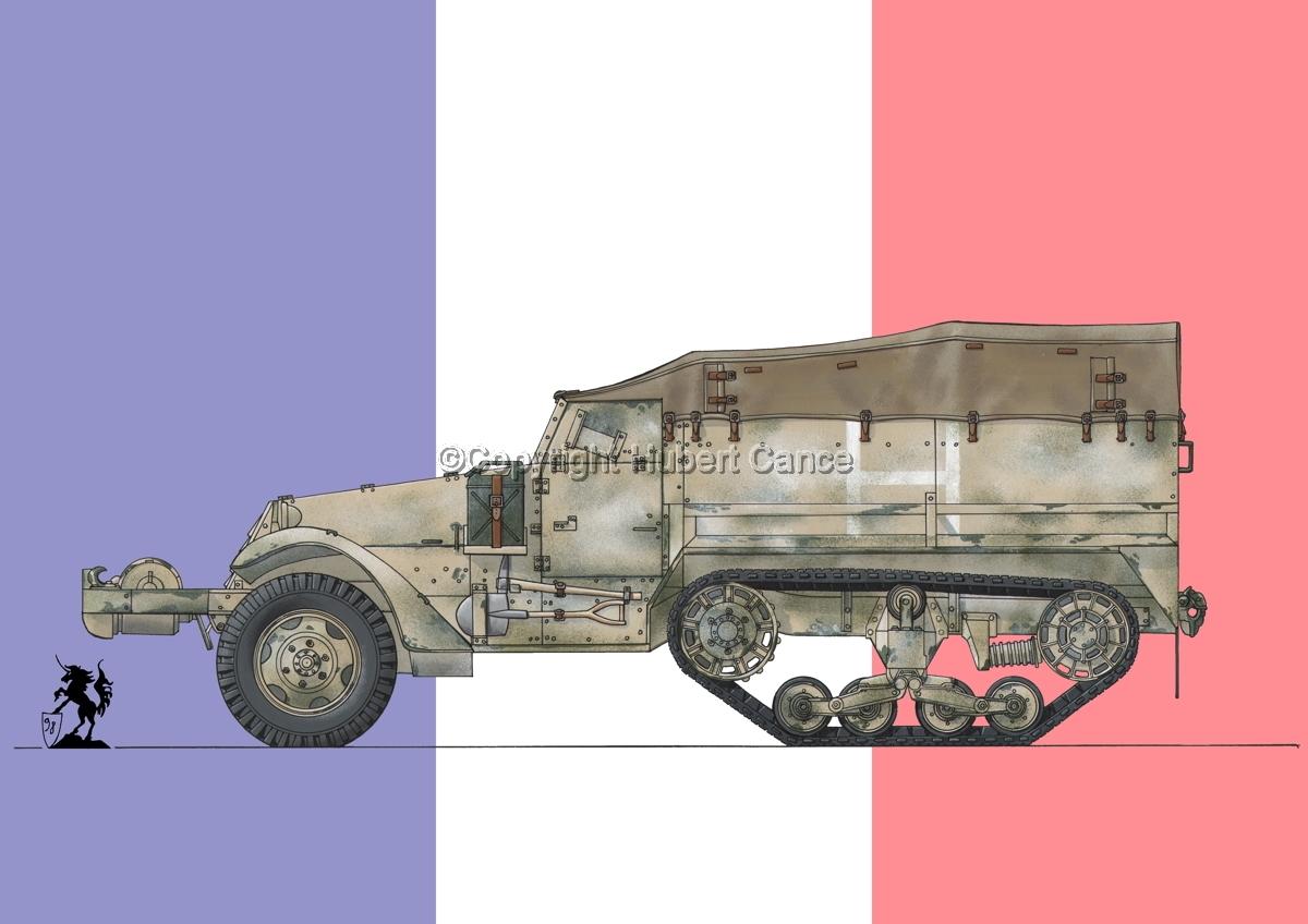 M3 Half-Track (Flag #1) (large view)
