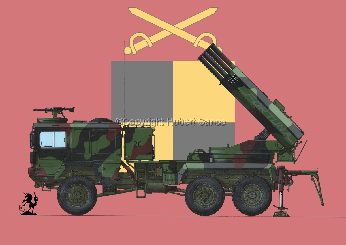 Raketenwerfer 110 mm auf Selbstfahrlafette 2 (Flag #3) (large view)
