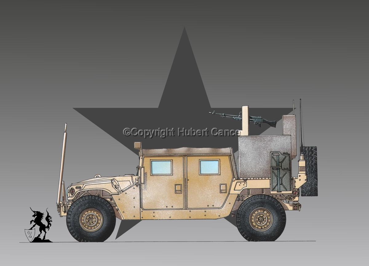 AMC M1038 HMMWV Gun-Truck (Roundel #1) (large view)