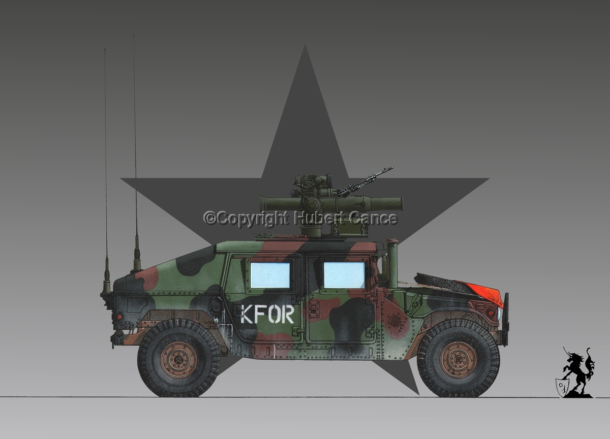 AMC M1045 HMMWV Tow Carrier (Roundel #1) (large view)