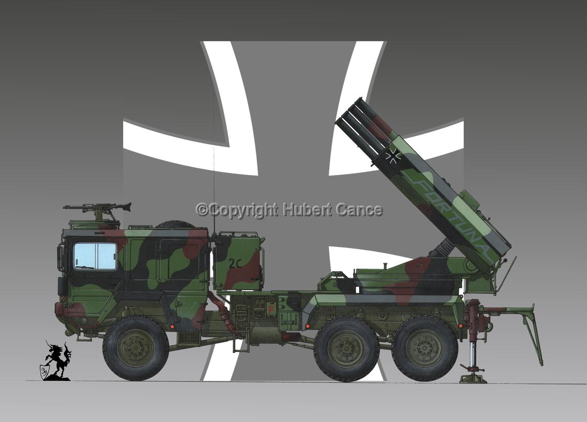 Raketenwerfer 110 mm auf Selbstfahrlafette 2 (Roundel  #1) (large view)