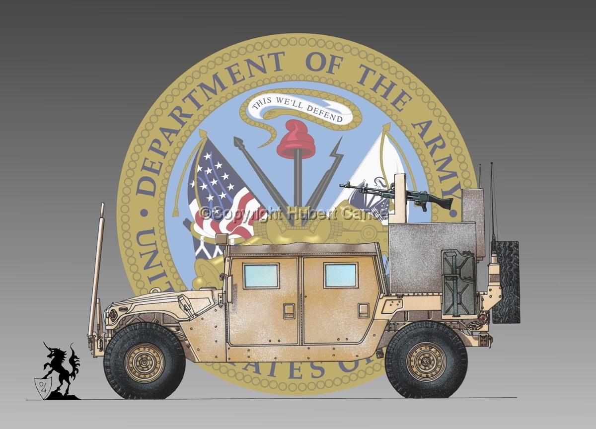 AMC M1038 HMMWV Gun-Truck (Insignia #1) (large view)