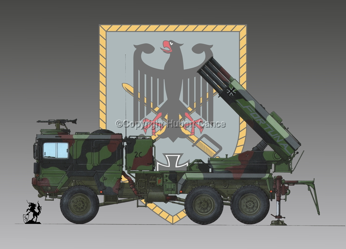Raketenwerfer 110 mm auf Selbstfahrlafette 2 (Insignia #1) (large view)