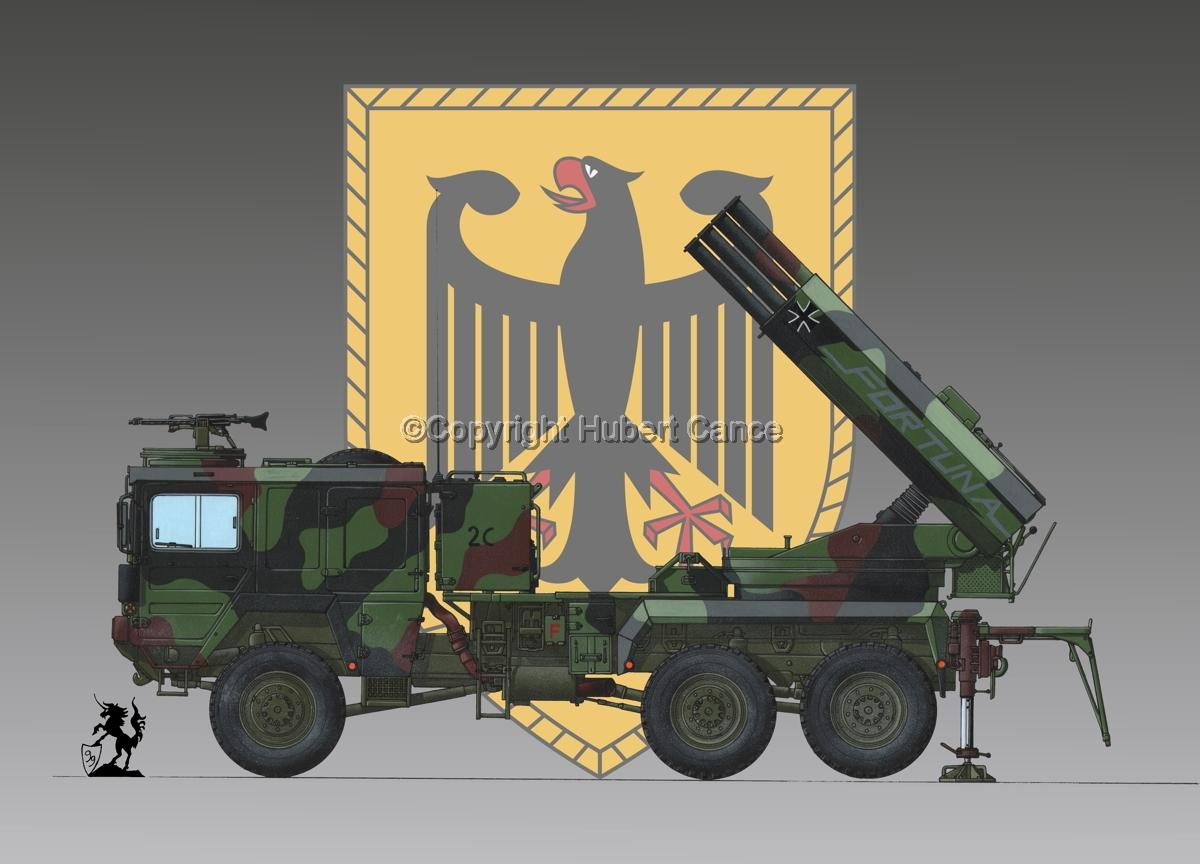 Raketenwerfer 110 mm auf Selbstfahrlafette 2 (Insignia #2) (large view)