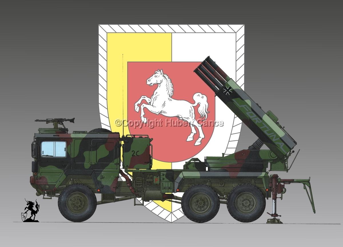 Raketenwerfer 110 mm auf Selbstfahrlafette 2 (Insignia #3) (large view)