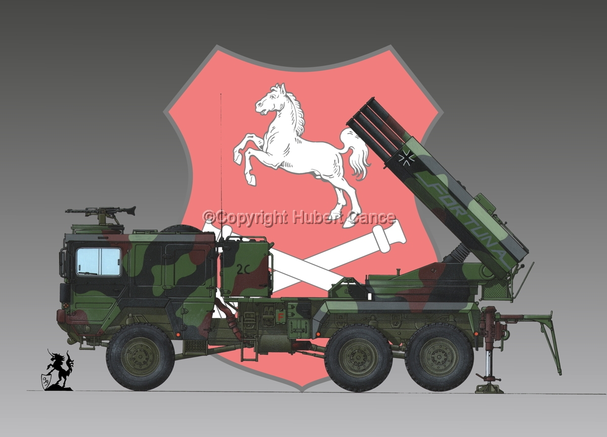 Raketenwerfer 110 mm auf Selbstfahrlafette 2 (Insignia #4) (large view)