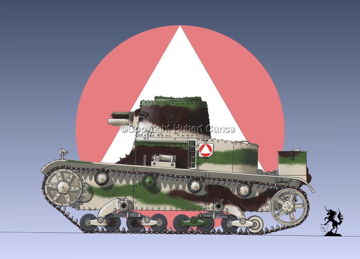 Vickers-Armstrong-Ursus VAU-33, B-Variant (Insignia #1) (large view)