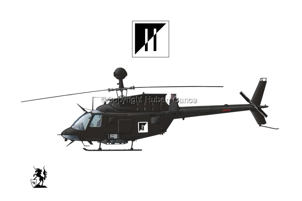 "Bell OH-58D ""Kiowa Warrior"" (Insignia #4.1) (large view)"