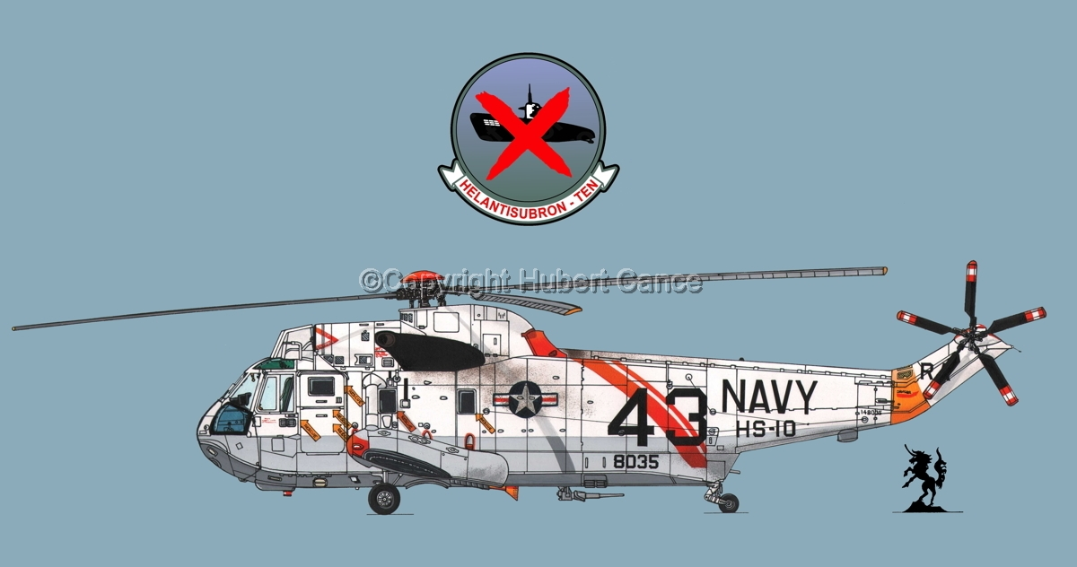 "Sikorsky SH-3H ""Seaking"" #1 (Insignia #2.2) (large view)"