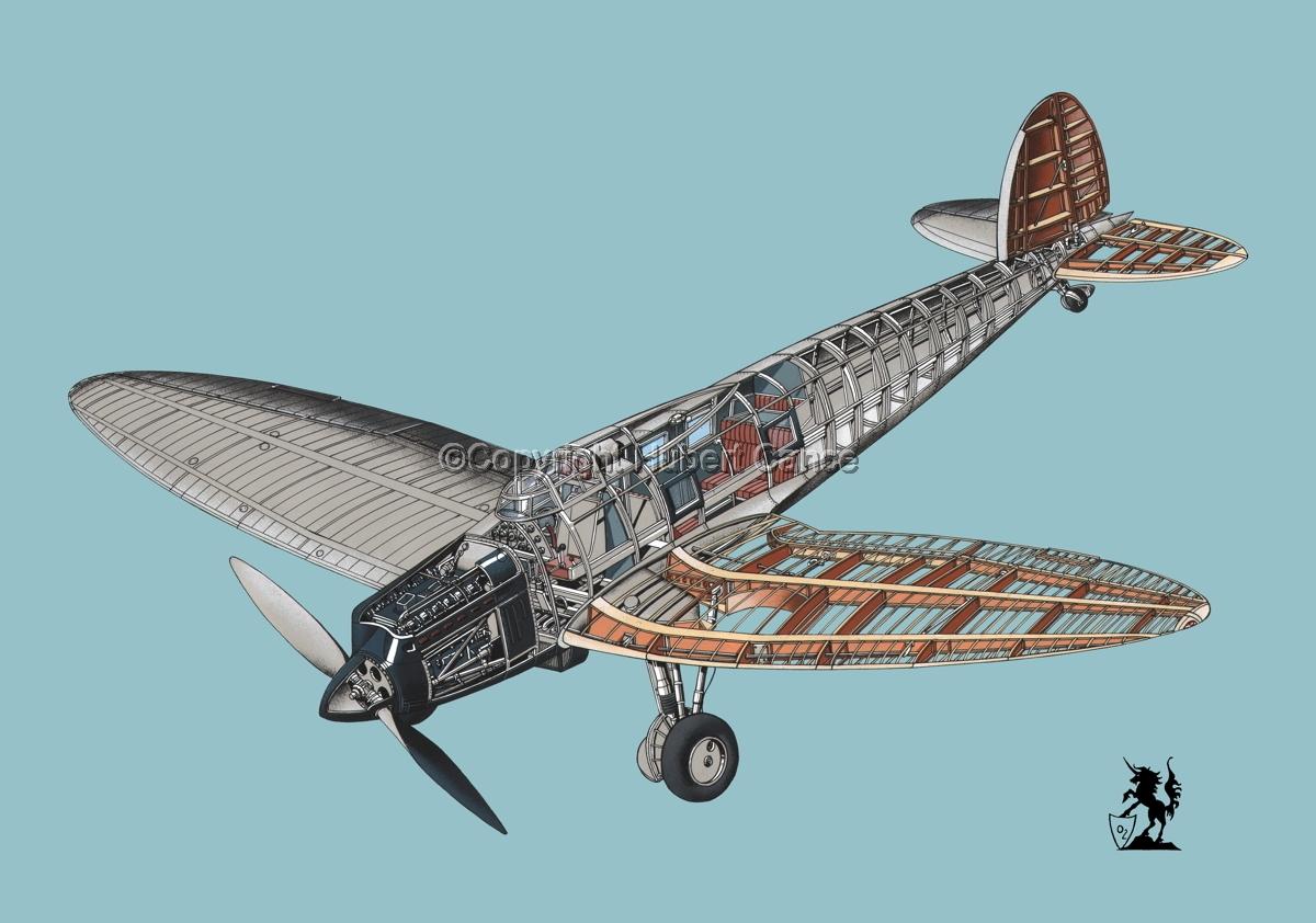 Heinkel He.70 Airliner #5 (large view)