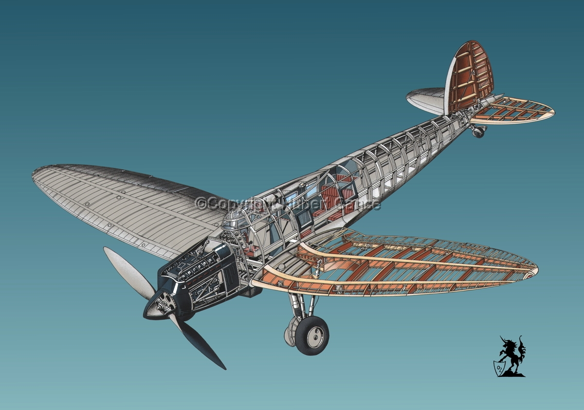Heinkel He.70 Airliner #6 (large view)