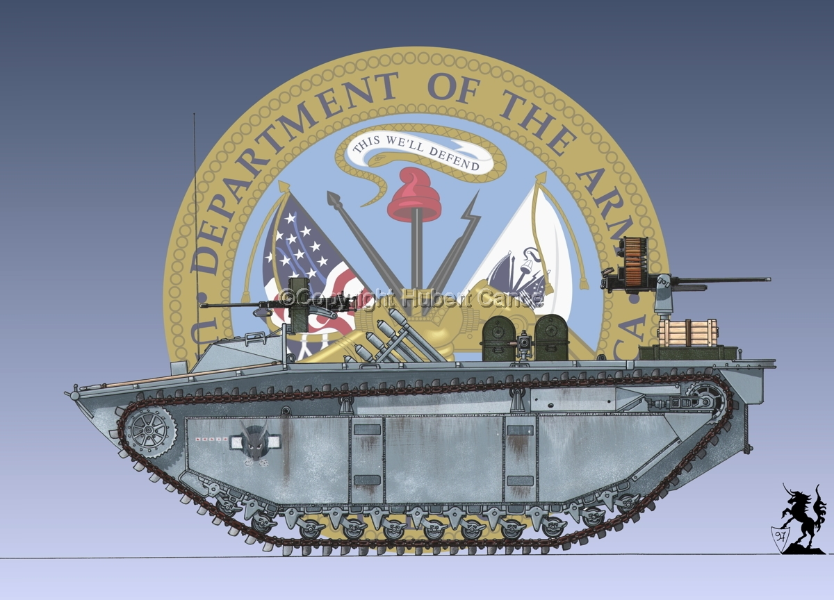 LVT(A)2 Fire Support Amtrac (Insignia #1) (large view)