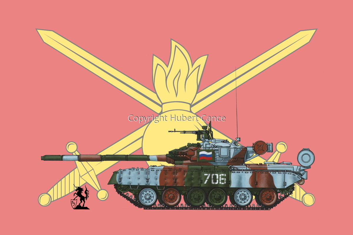 T-80BV (Flag #3) (large view)
