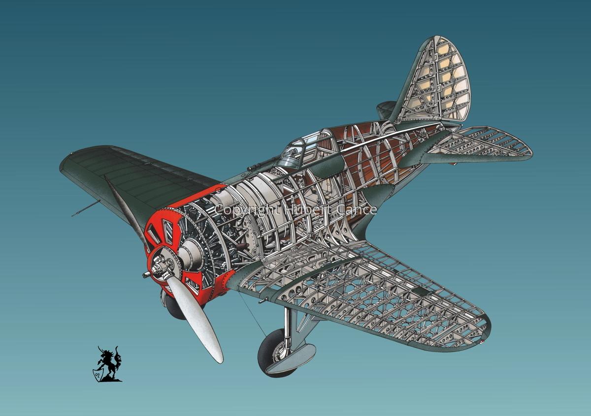 Polikarpov I.16 Type 5 #1.6 (large view)