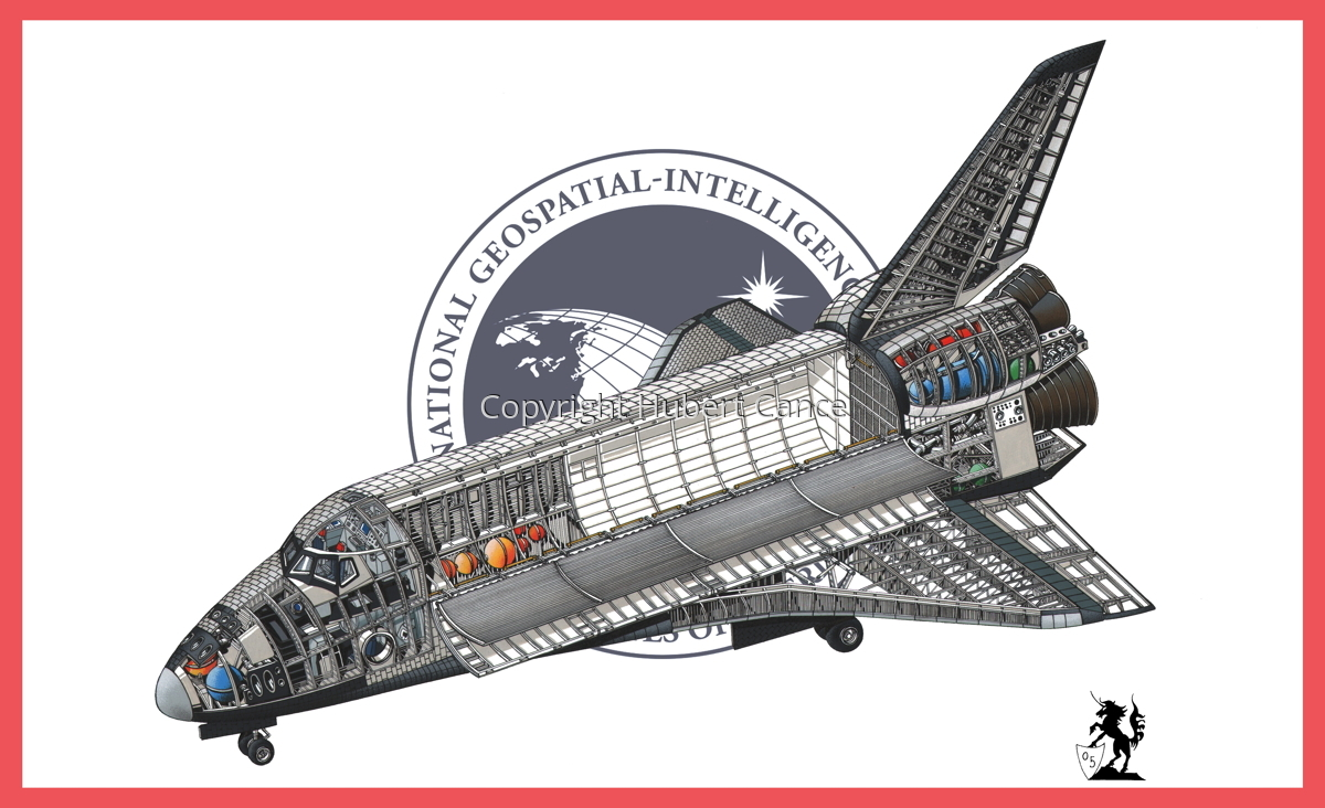 Rockwell Space Shuttle (Flag #7) (large view)