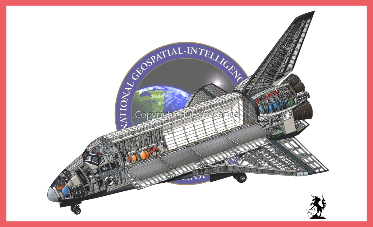 Rockwell Space Shuttle (Flag #8) (large view)