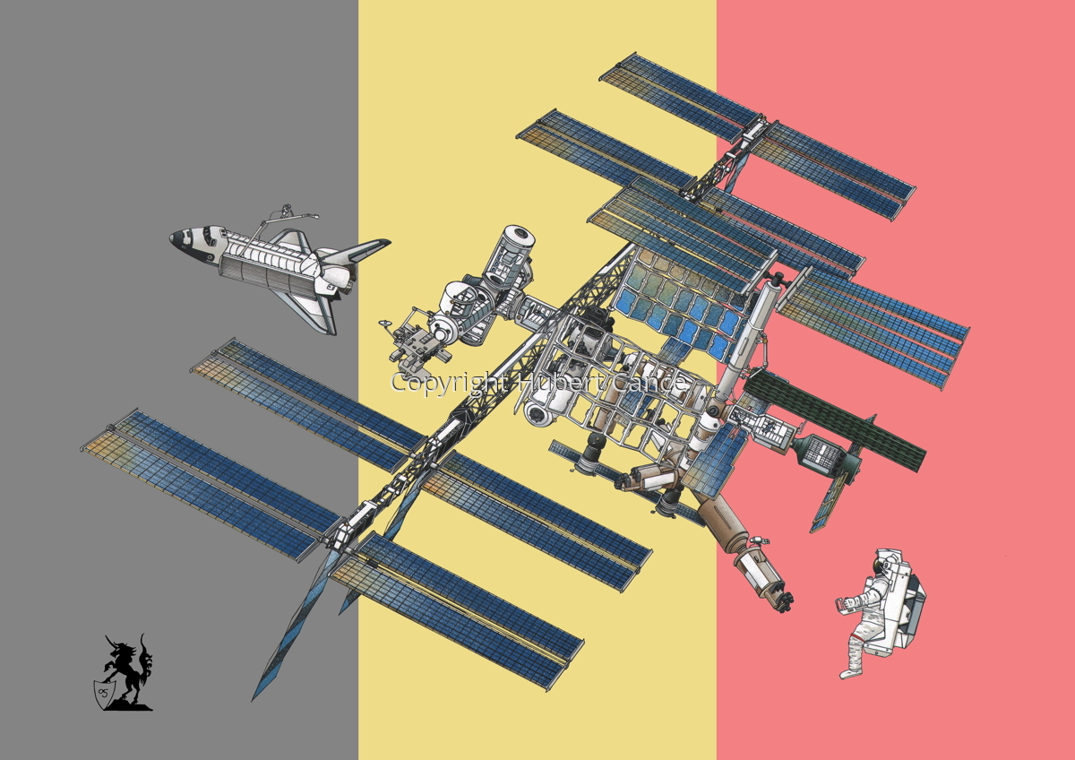 International Space Station (Flag #8) (large view)