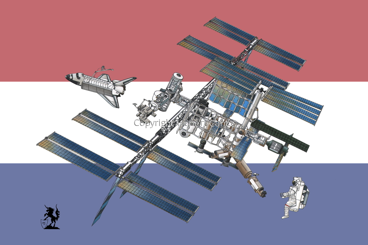 International Space Station (Flag #9) (large view)