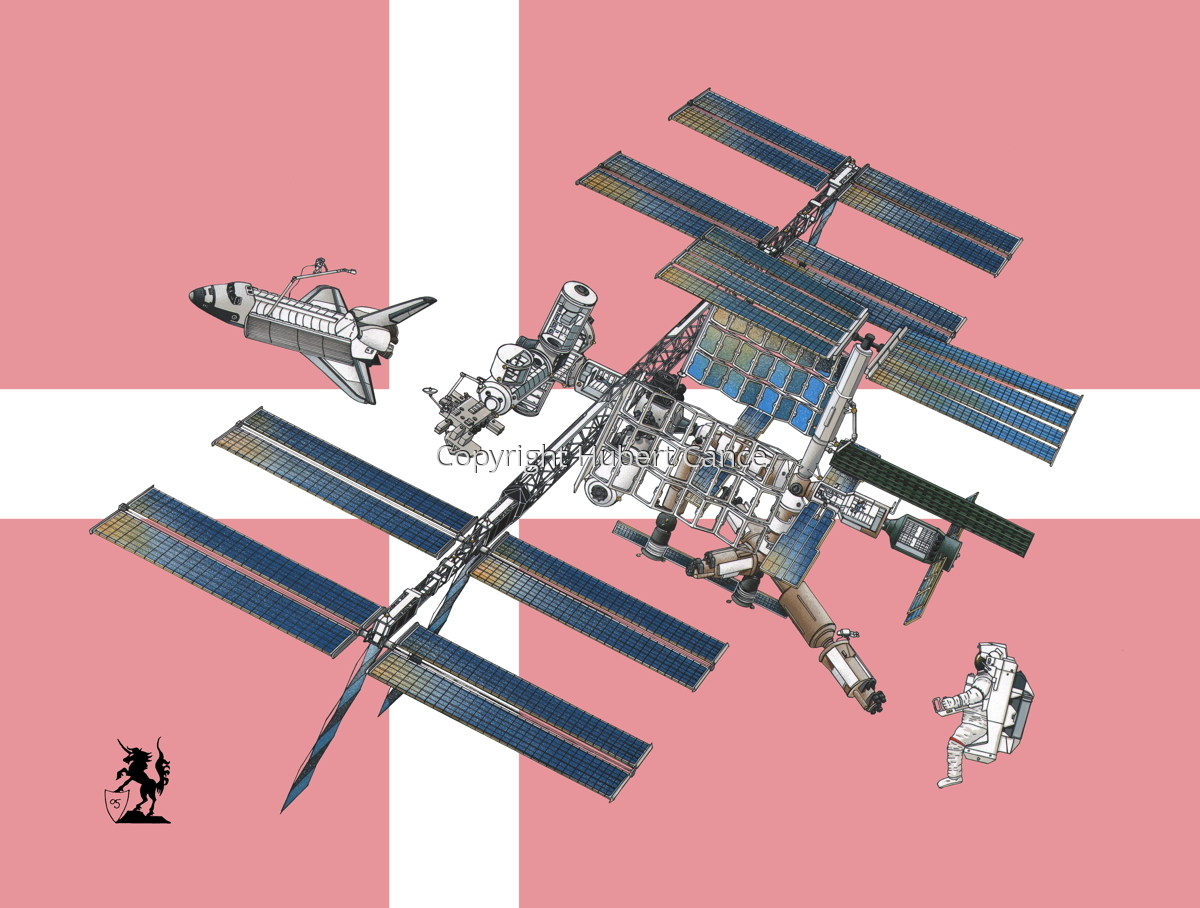 International Space Station (Flag #11) (large view)