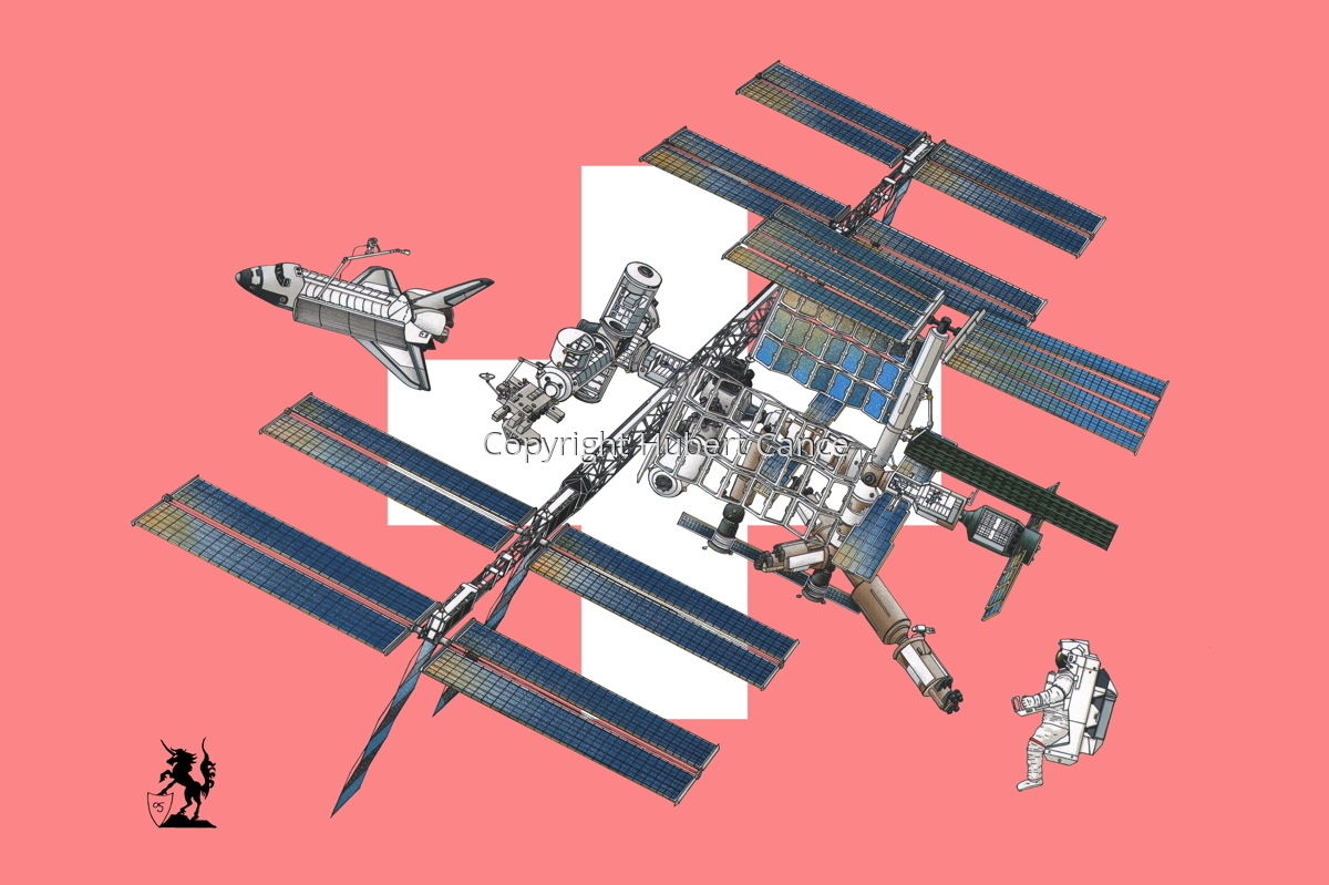 International Space Station (Flag #12) (large view)