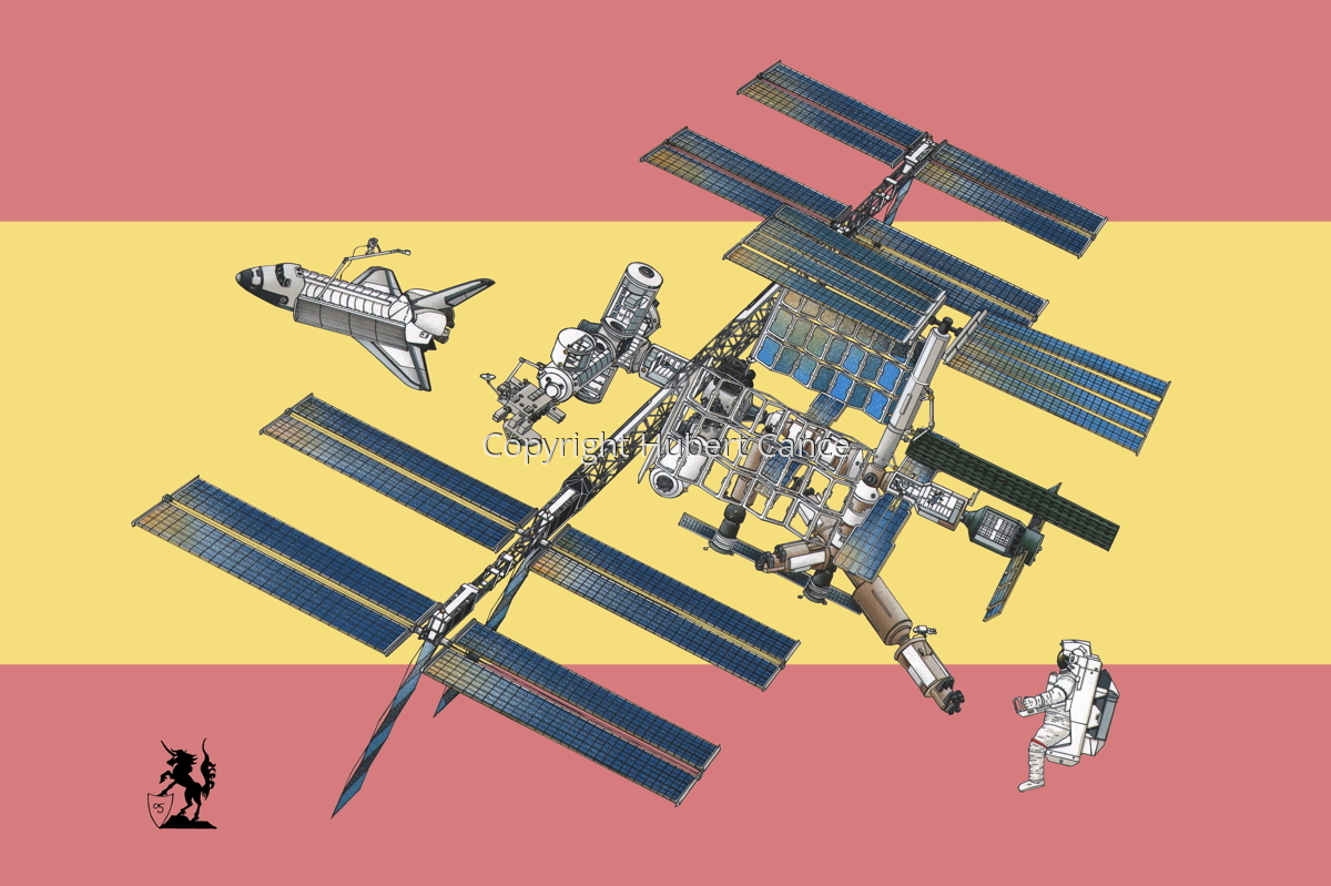 International Space Station (Flag #13) (large view)