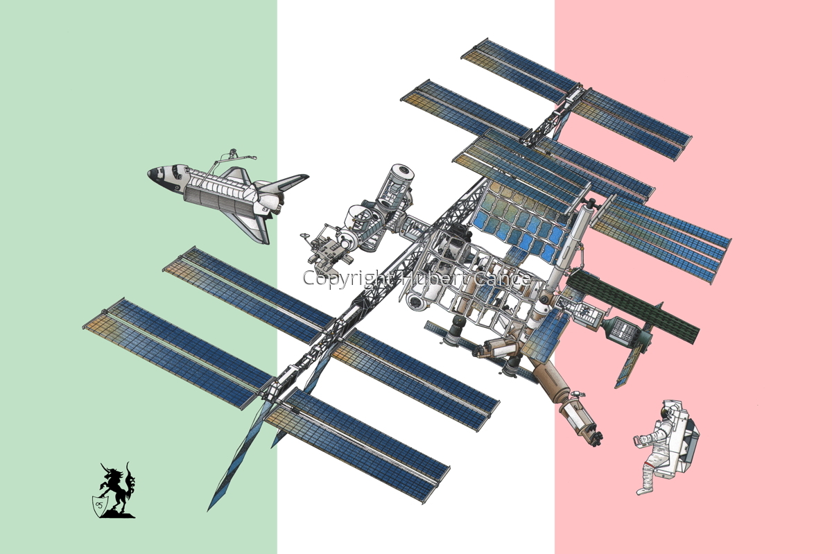 International Space Station (Flag #14) (large view)