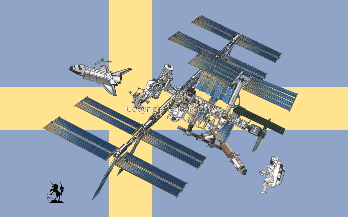 International Space Station (Flag #16) (large view)