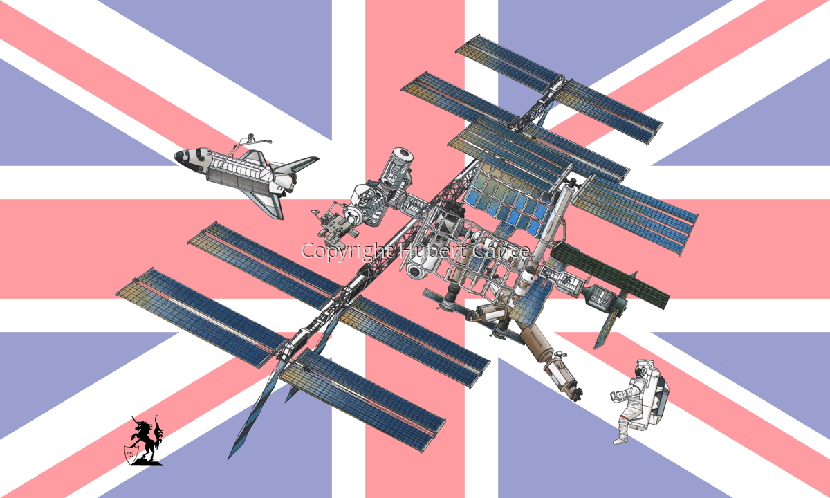 International Space Station (Flag #17) (large view)