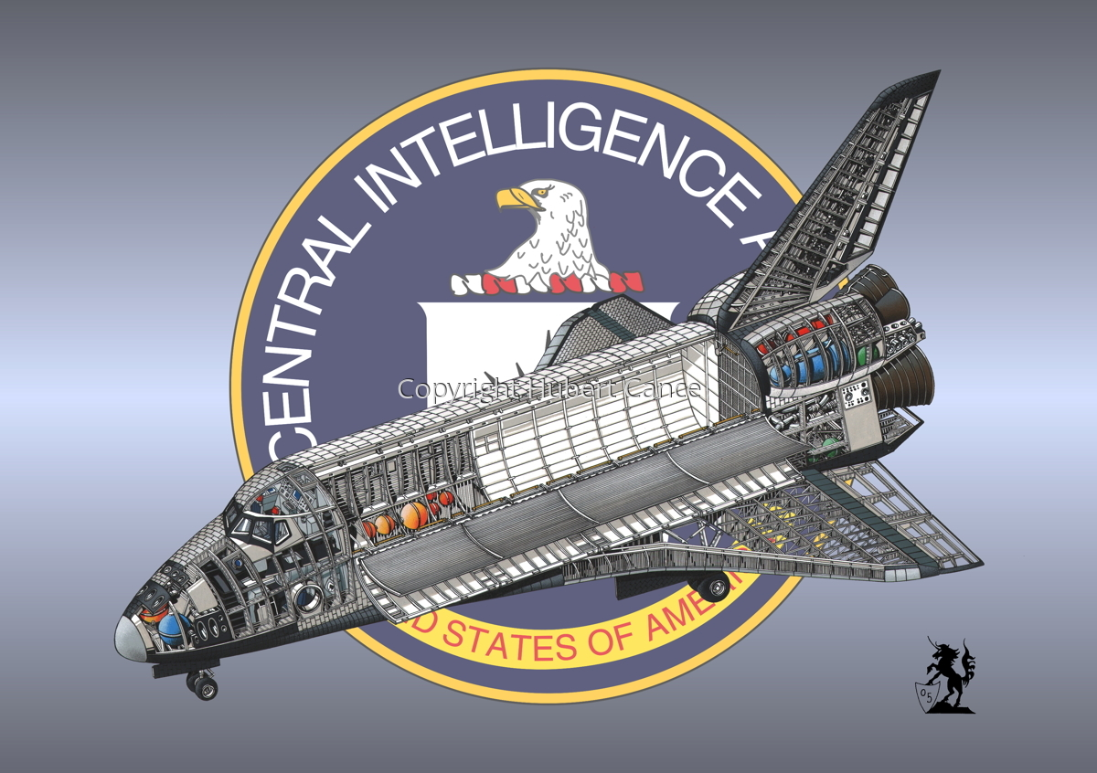 Rockwell Space Shuttle (Insignia #9) (large view)