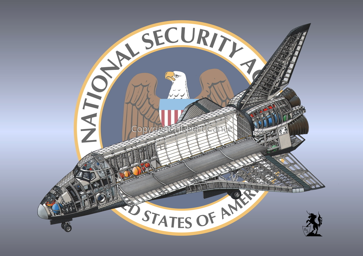 Rockwell Space Shuttle (Insignia #10) (large view)