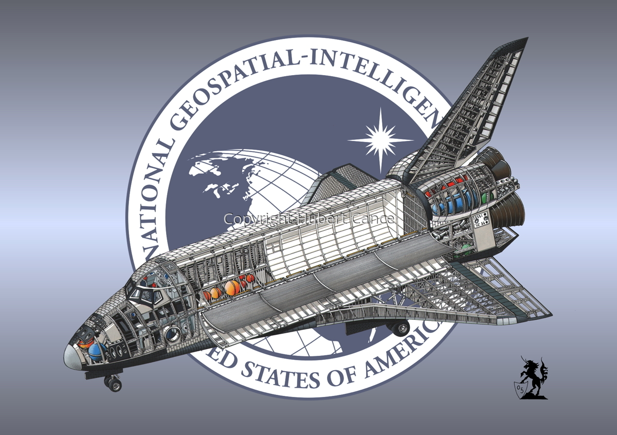 Rockwell Space Shuttle (Insignia #13) (large view)