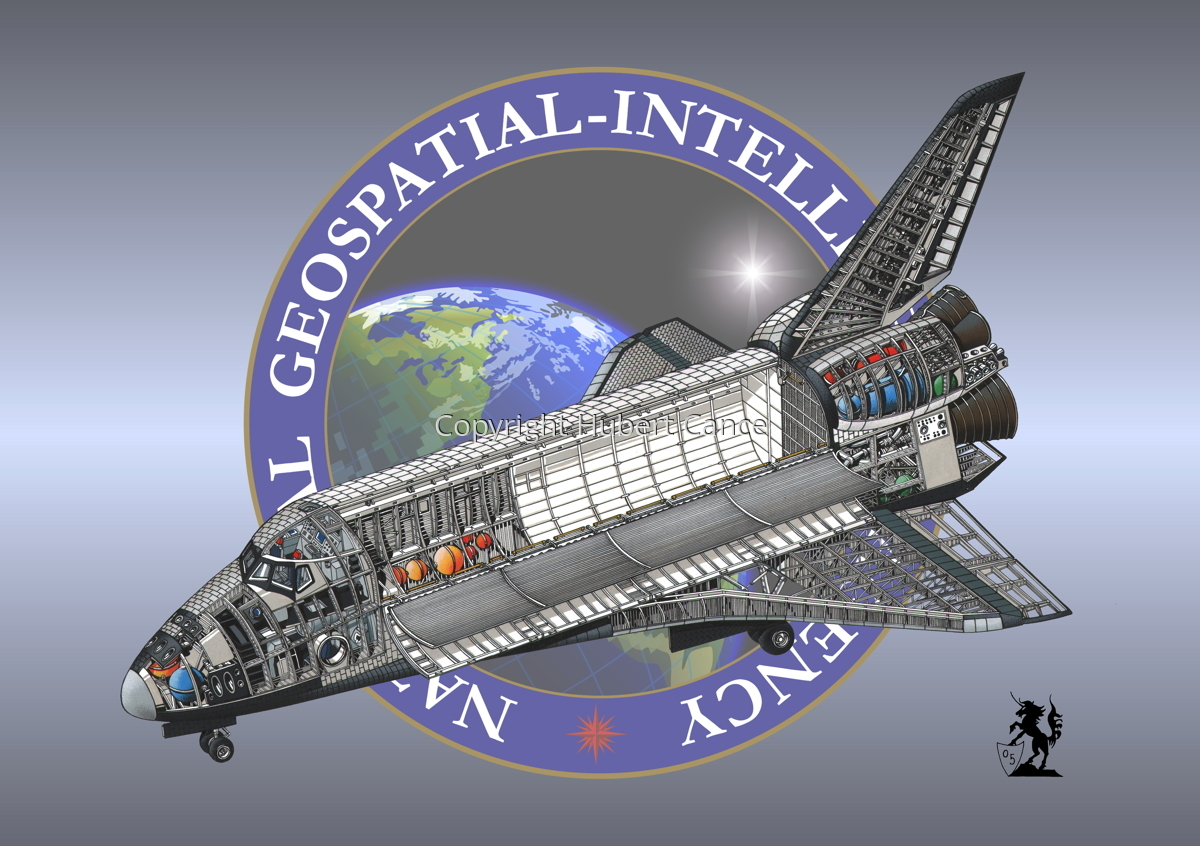 Rockwell Space Shuttle (Insignia #14) (large view)