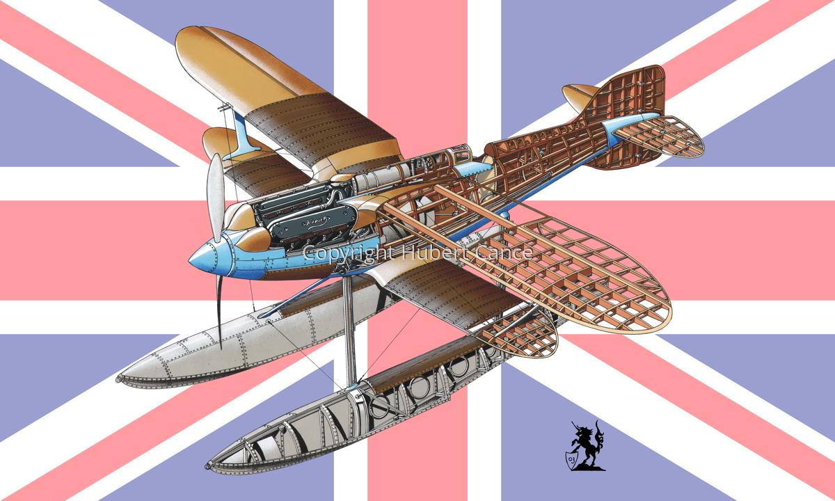 Gloster IVb Racer (Flag #1) (large view)