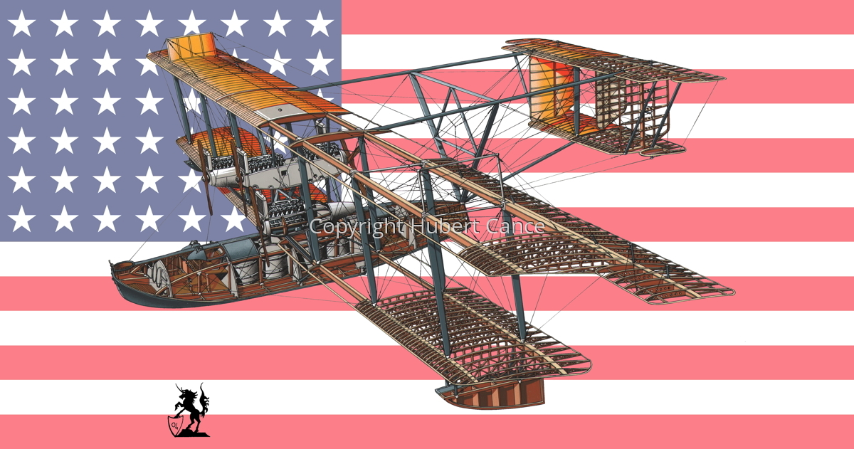 Curtiss NC-4 Transatlantic (Flag #1) (large view)