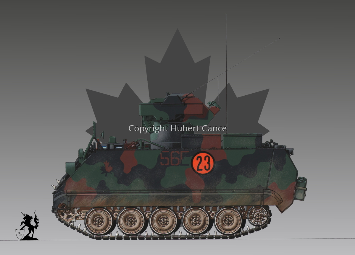 M113A2 TUA (Tow Under Armor) (Roundel #1) (large view)